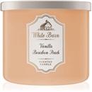 Bath & Body Works Vanilla Bourbon Peach 411 g świeczka zapachowa