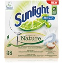 Sunlight All in 1 Powered by Nature 38 szt. Tabletkii do zmywarki