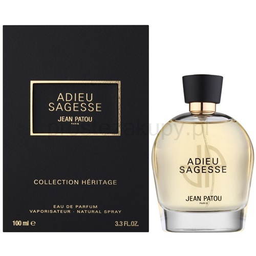 jean patou collection heritage - adieu sagesse