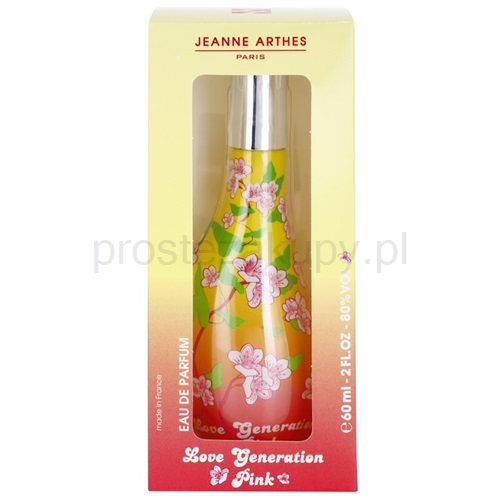 jeanne arthes love generation pink