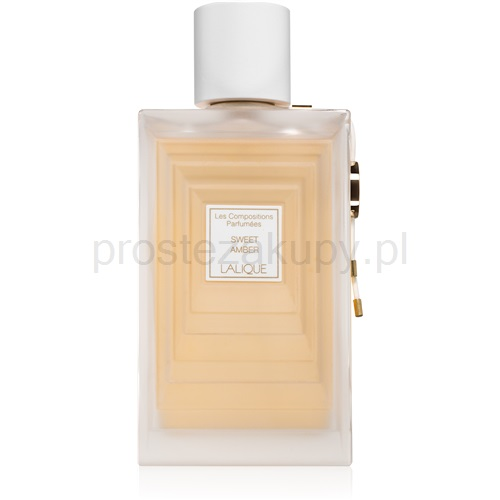 lalique les compositions parfumees - sweet amber