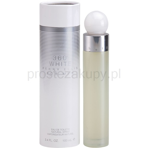 perry ellis 360° white for men
