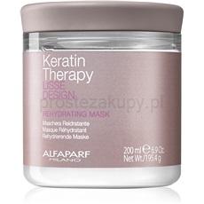 Alfaparf Milano Lisse Design Keratin Therapy maseczka przywracająca nawilżenie do wszystkich rodzajów włosów 200 ml