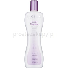 Biosilk Color Therapy szampon neutralizująca żółtawe odcienie 355 ml