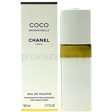 Chanel Coco Mademoiselle Coco Mademoiselle 50 ml woda toaletowa flakon napełnialny dla kobiet woda toaletowa