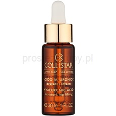 Collistar Pure Actives Pure Actives serum liftingujące do twarzy z kwasem hialuronowym  30 ml