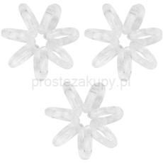 invisibobble Nano gumki do włosów 3 szt. Crystal Clear 3 szt.