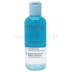 MATIS Paris Réponse Yeux dwufazowy płyn do demakijażu okolice oczu i usta (Eye & Lips Make-Up Remover) 125 ml