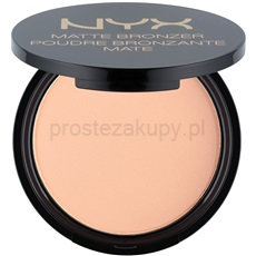 NYX Professional Makeup Matte Bronzer bronzer odcień 01 Light 9,5 g
