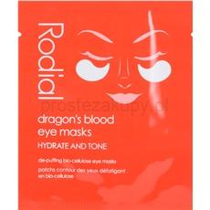 Rodial Dragon's Blood maska pod oczy przeciw obrzękom i cieniom 8 szt.